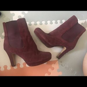 Clark's Suede Ankle Boots